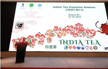 Indian Tea Promotion Event, Xiamen 21 Oct 2018