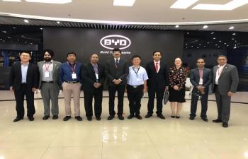 Madhya Pradesh Delegation visit to Shenzhen on 22 - 23 October 2018