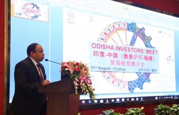 """Invest in Odisha"" Seminar in Fuzhou on 31 Aug 2018"