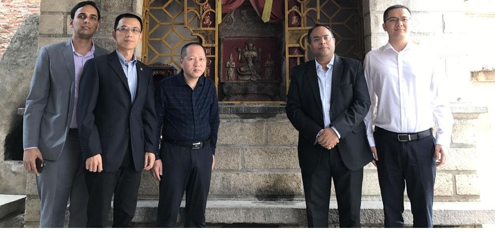 Consul General's visit to Chedian Shrine (Quanzhou, 24 Oct)